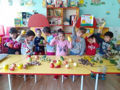 Есен в детската градина - ДГ Червена шапчица - Габаре