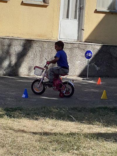 Дни на безопасността на пътя  16 - 22 септември 2020 г. - ДГ Червена шапчица - Габаре
