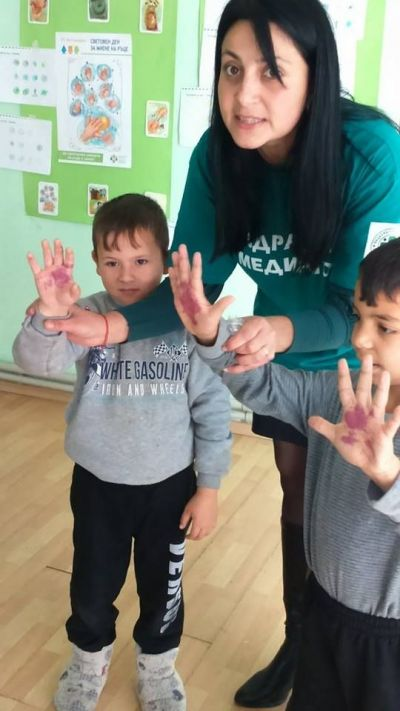 15 октомври - Световен ден за миене на ръцете - ДГ Червена шапчица - Габаре
